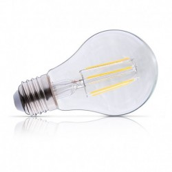 Ampoule filament LED E27 8W 2700 Kelvin blanc chaud 990 lumen