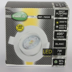 Spot adjustable LED 7W 3000K 4000K 6000K