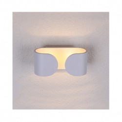Applique murale LED blanc 6W 3000 Kelvin IP20