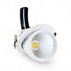 Spot gimbal white LED adjustable 3 X 10 Watt 4000 Kelvin 3 X 940 lumen white light