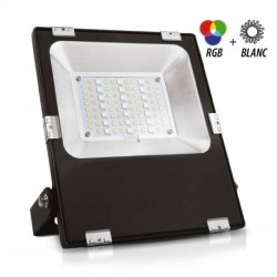 Projector color RGB LED 100W outdoor + remote control