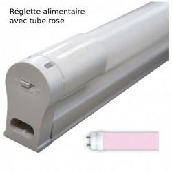 Slider LED 120 cm T8 18W pink ( food )