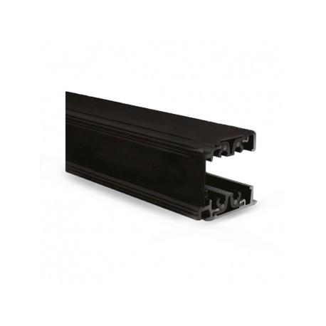 LED spotlight rail black 28W 3000 Kelvin 2400 lumen - warm White