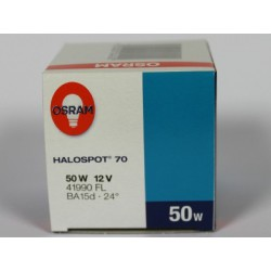 HALOSPOT 70 50W 12V OSRAM 41990 FL BA15d 24°