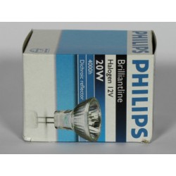 Ampoule PHILIPS BRILLIANTLINE PRO 20W GU4 12V 30°