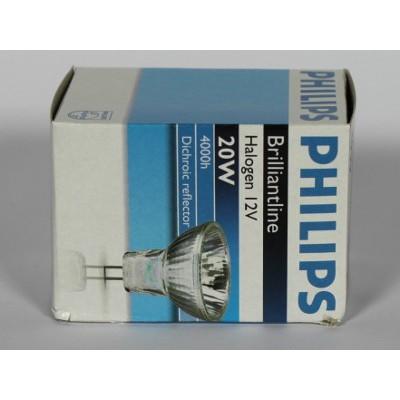 ampoule philips brilliantline pro 20w gu4 12v 30 42030 4000h. Black Bedroom Furniture Sets. Home Design Ideas