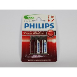 Battery LR03 1.5 V AAA PHILIPS POWERLIFE