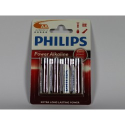 Pile LR6 1,5V AA PHILIPS POWERLIFE