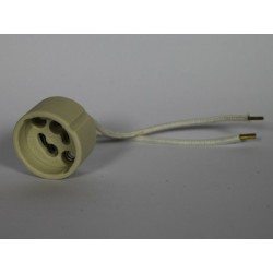 Socket halogen or LED GU10