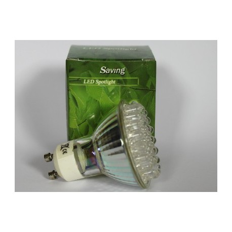LED bulb GU10, 3W, Blue