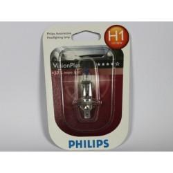 Ampoule voiture H1 PHILIPS VisionPlus H1 12V 55W