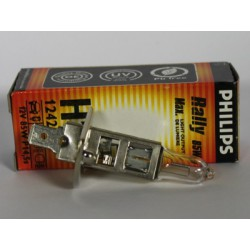Ampoule voiture H1 PHILIPS Rally H1 12V 85W P14,5S