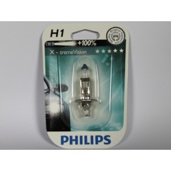 Ampoule voiture H1 PHILIPS X-tremVision H1 12V 55W