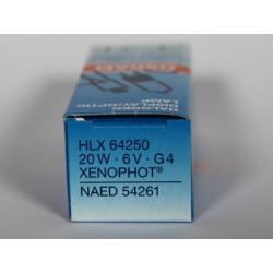 Ampoule OSRAM 64250 HLX ESB 20W 6V G4