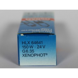 Ampoule OSRAM 64641 HLX 150W 24V G6.35