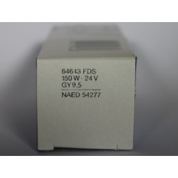 Ampoule OSRAM 64643 150W 24V GY9.5 FDS