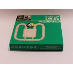Bulb compact fluorescent BIAX 2D 16W/835/4P
