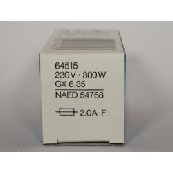 ampoule OSRAM 64515 300W GX6.35