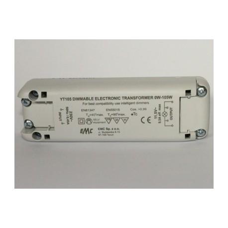 Transformer 12V HALOGENE / LED 105 W