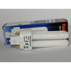 Ampoule fluocompacte Radium Ralux duo/E 10W/827
