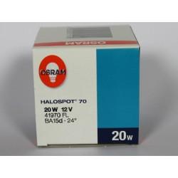 HALOSPOT 70 20W 12V OSRAM 41970 SP BA15d 8°