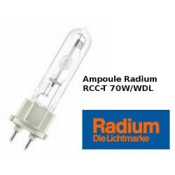 Ampoule RADIUM RCC-T 70W/WDL/230/G12