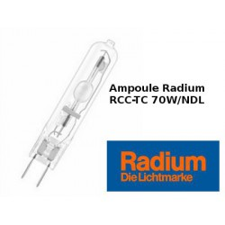 Ampoule RADIUM RCC-TC 70W/NDL/230/G8.5