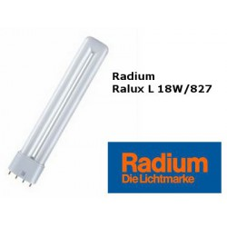 Ampoule Radium Long 18W/827