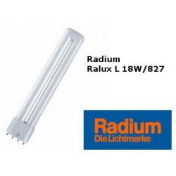 Bulb Radium Long 18W/827