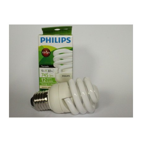 PHILIPS Tornado 12W WW 2700K WARM WHITE
