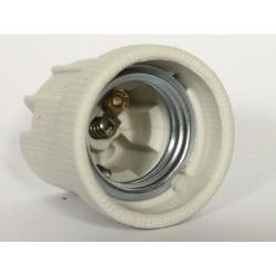 Lampholder ceramic E27