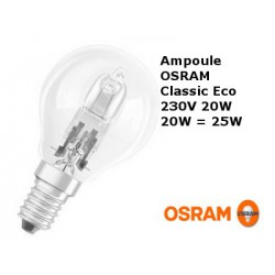 Bulb spherical OSRAM Classic Eco 20W E14