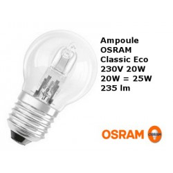 Bulb spherical OSRAM Classic Eco 20W E27