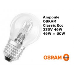 Bulb spherical OSRAM Classic Eco 46W E27