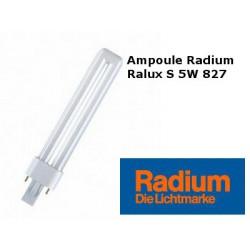 ampoule Radium Ralux S 5W/827