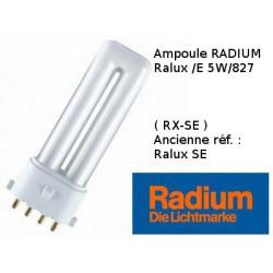 Ampoule Radium /E 5W/827