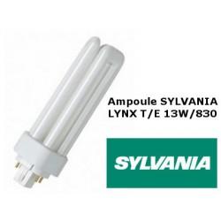 Ampoule fluocompacte SYLVANIA Lynx TE 13W 830