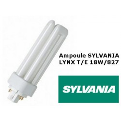 Ampoule fluocompacte SYLVANIA Lynx TE 18W 827