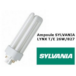 Ampoule fluocompacte SYLVANIA Lynx TE 26W 827