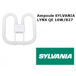 Ampoule fluocompacte SYLVANIA Lynx QE 16W 827