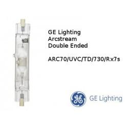 bulb GE ARC-TD 70W/730 RX7s 3000K warm white