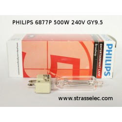 PHILIPS 6877P 500W 240V GY9.5