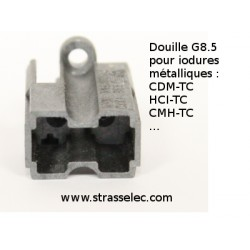 Douille Iodure Metallique culot G12