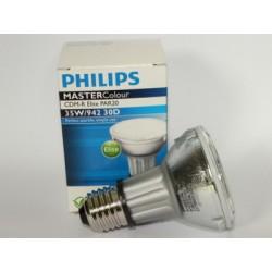 PHILIPS MASTERCOLOUR CDM-R 35W / 942 PAR20 30D