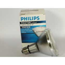 Light bulb, PHILIPS MASTERColour CDM-R PAR30 70W / 830 SP 10° E27