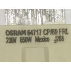Ampoule OSRAM 64717 CP/89 FRL 230V 650W NAED 54489