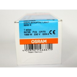 OSRAM 230V 1000W 64745 FVA CP/70