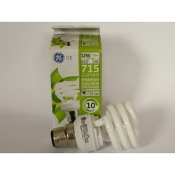 Compact fluorescent B22 12W 58