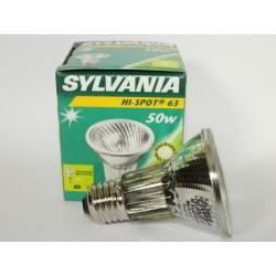 Ampoule halogène SYLVANIA Hi-Spot 63 50W 230V SPOT 10°