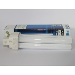 Compact fluorescent bulb PHILIPS MASTER PL-C 18W/827/4P